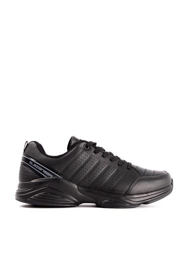 Slazenger Slazenger ZOOMA Koşu & Yürüyüş Erkek Ayakkabı    Siyah